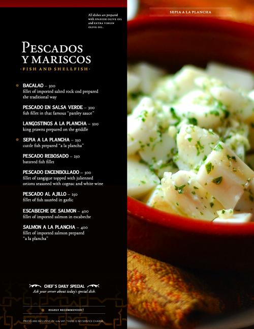 ipars menu online